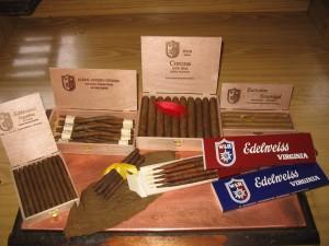 Sortiment unserer Zigarren